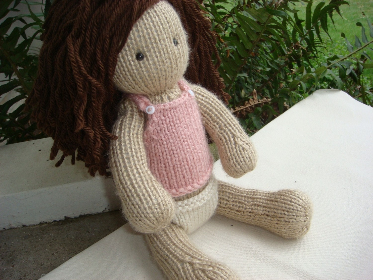 Knitted Doll Baby PATTERN by lovelyworld on Etsy