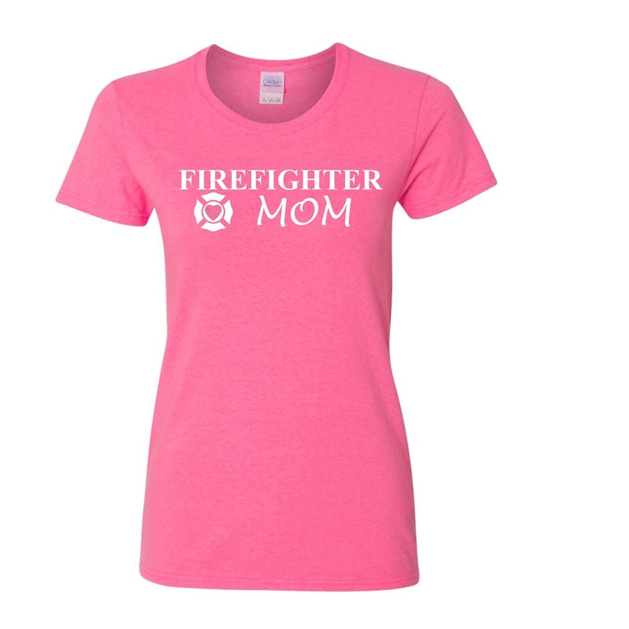 Firefighter mom shirts