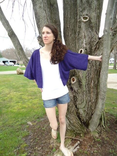 Sparkle Purple Shrug