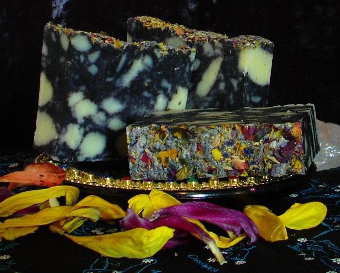 Flower Burst Handmade Floral Soap