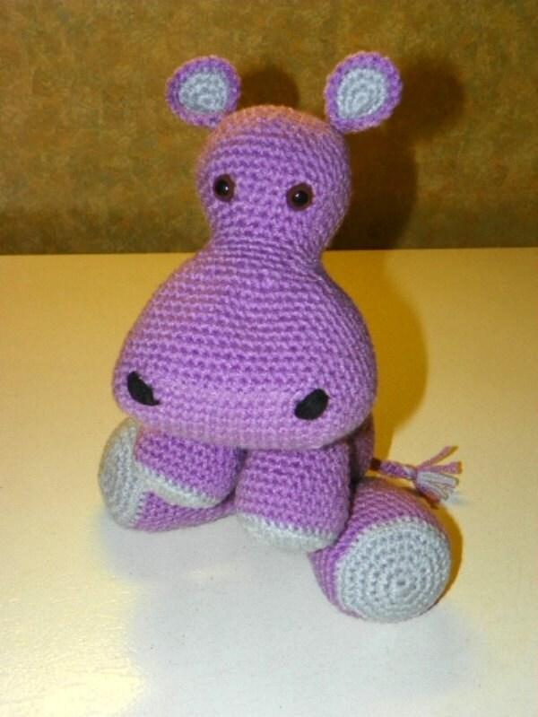 Harold Hippo crochet pattern by southerngalscrochet on Etsy