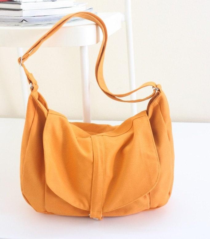 New - Kylie in Orange / Messenger style