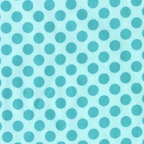Michael Miller Fabric, Ta Dot, Sea, 1 Yard