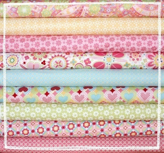 Lizzie Anna Griffin fabric 5 in. charm squares - LAST ONE