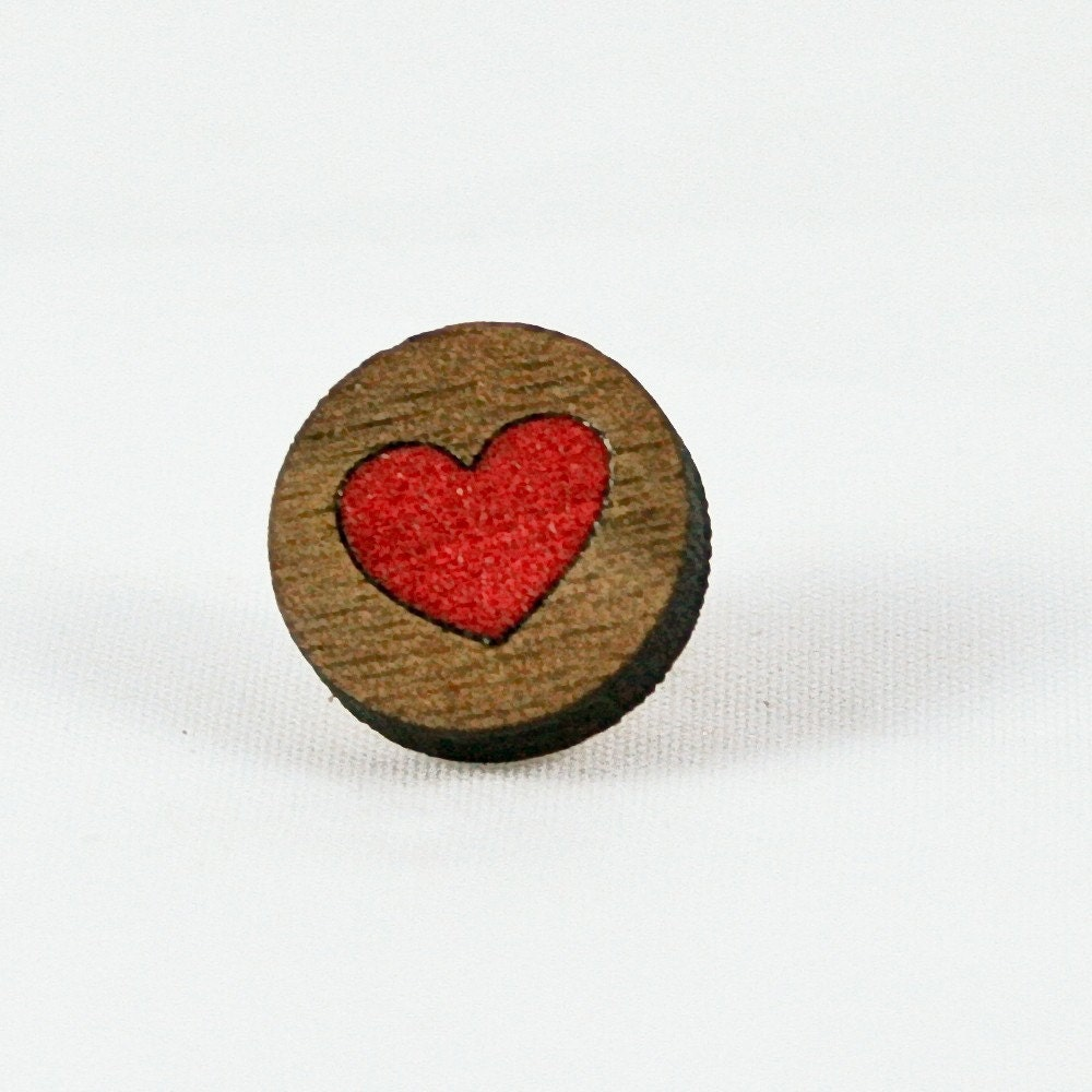 Mini Heart Pin
