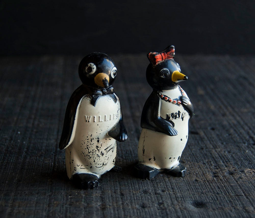 Willie and Millie Salt and Pepper Shakers