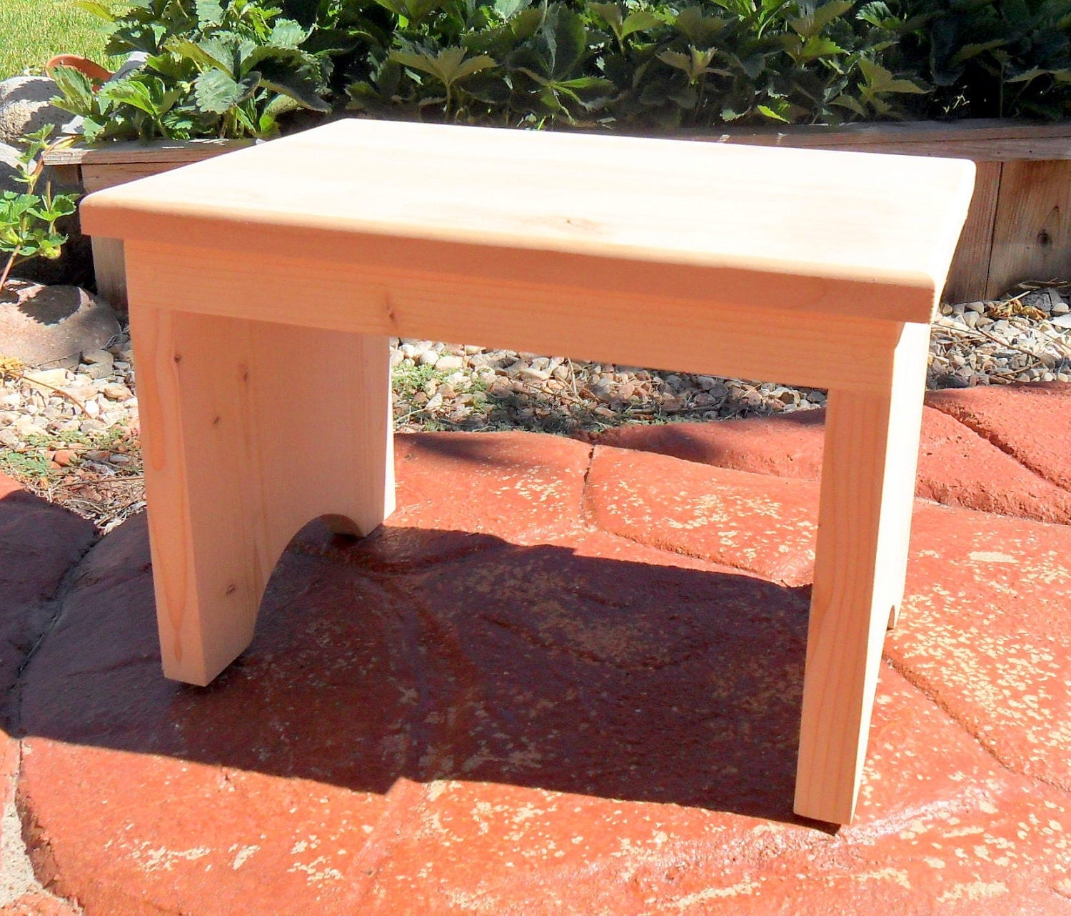 New Unfinished Shaker Inspired Wooden Stool By