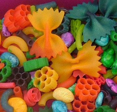 DooDadSmith Colored Dried Pasta For Gluing - USA Shipping Included