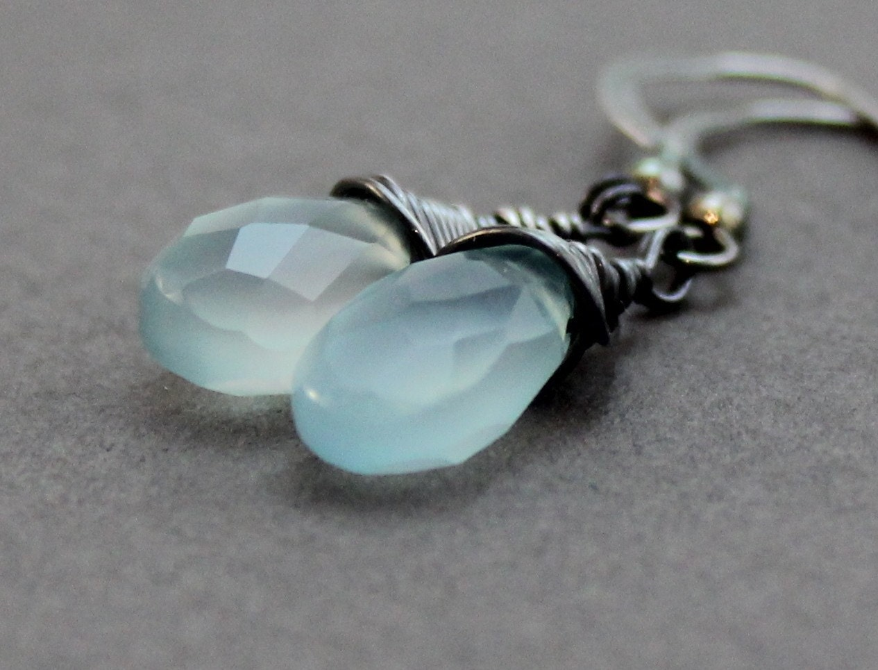 Mystic Ocean Gemstone Earrings