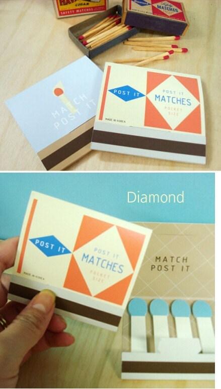 Diamond Match Index memo Post-it (80 sheets)