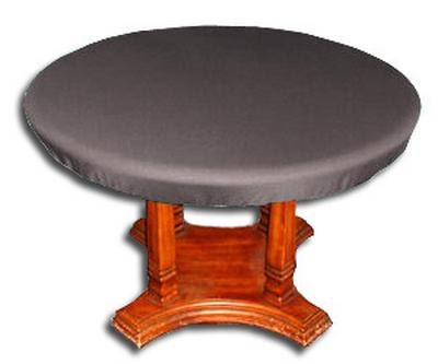 Round grey texas holdem card poker table top converter table cloth