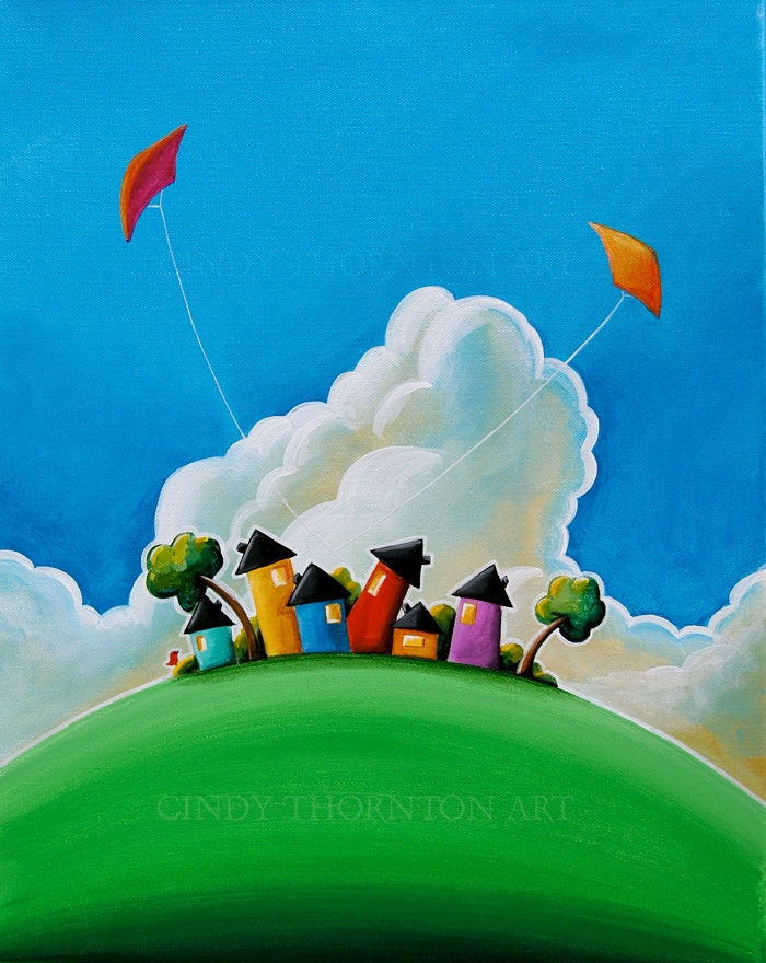 Gather 'Round - Cindy Thornton Art