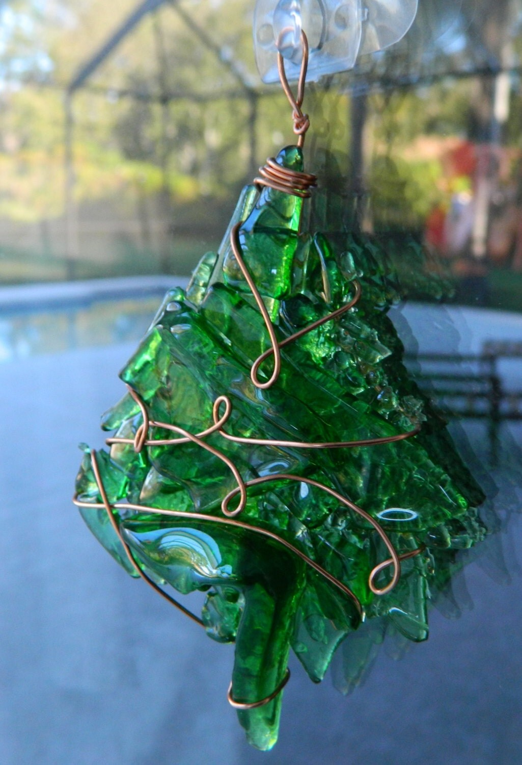 Unavailable listing on etsy for How to make a beer bottle christmas tree