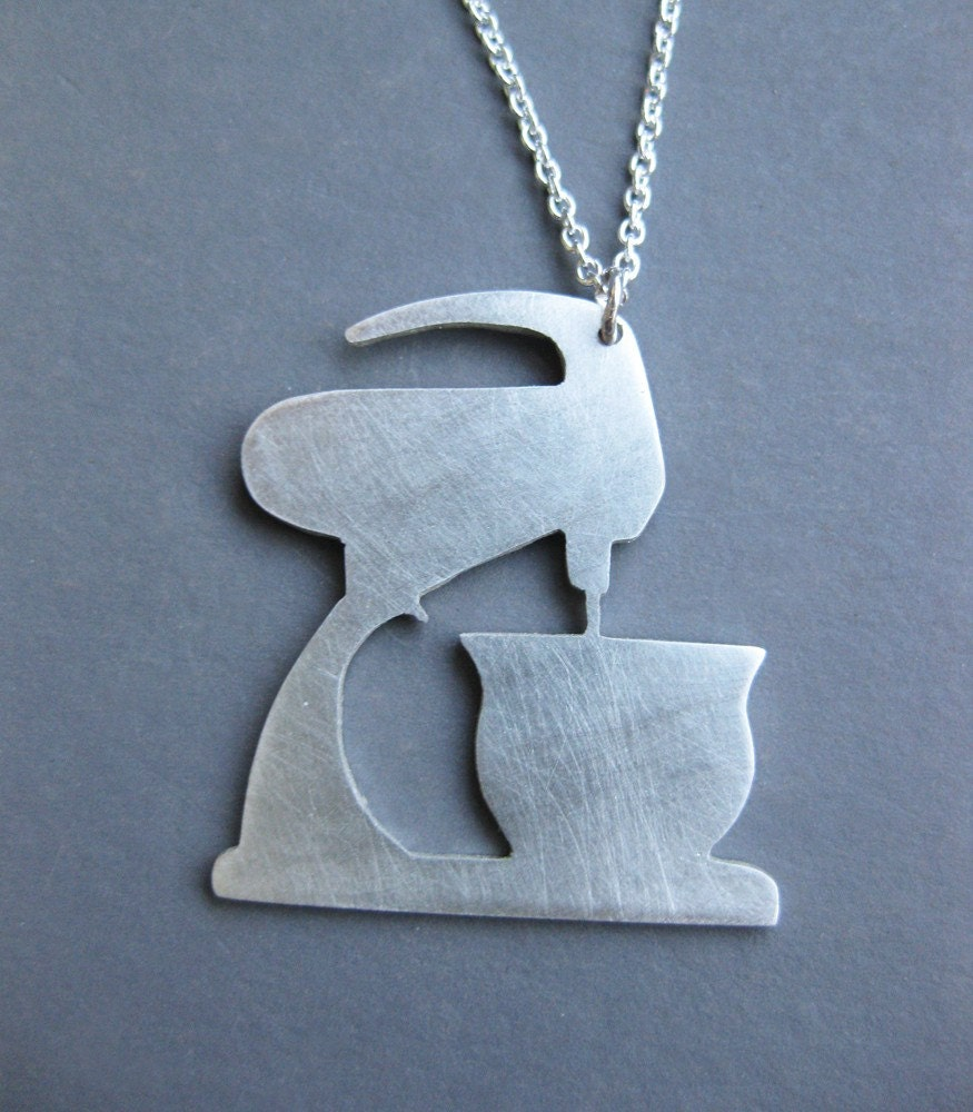 MIXMASTER sterling silver necklace