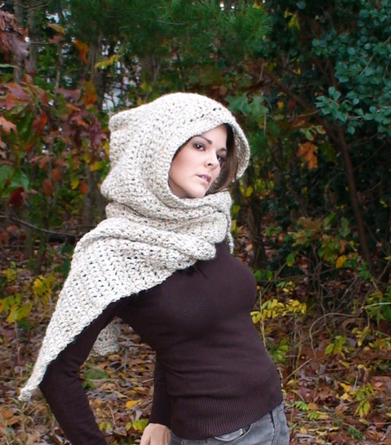 OVERSIZED Enchantment Hoodie Scarf