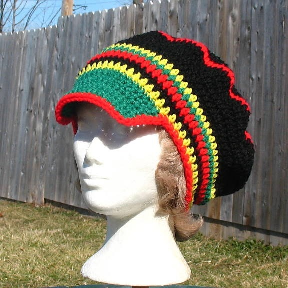 Crochet rasta pattern in Women's Hats - Compare Prices, Read