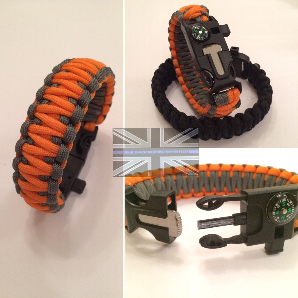 KMP 5in1 Survival Paracord Wristband