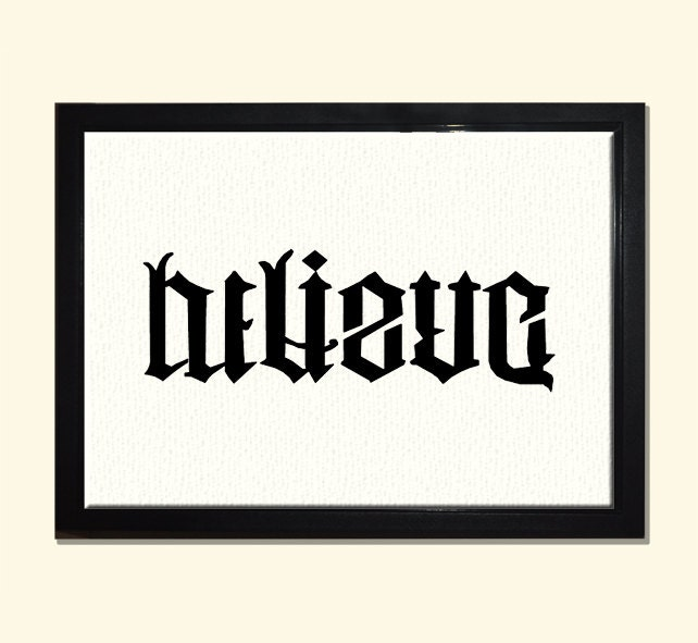 loyalty betrayal ambigram pictures to pin on pinterest tattooskid. Black Bedroom Furniture Sets. Home Design Ideas