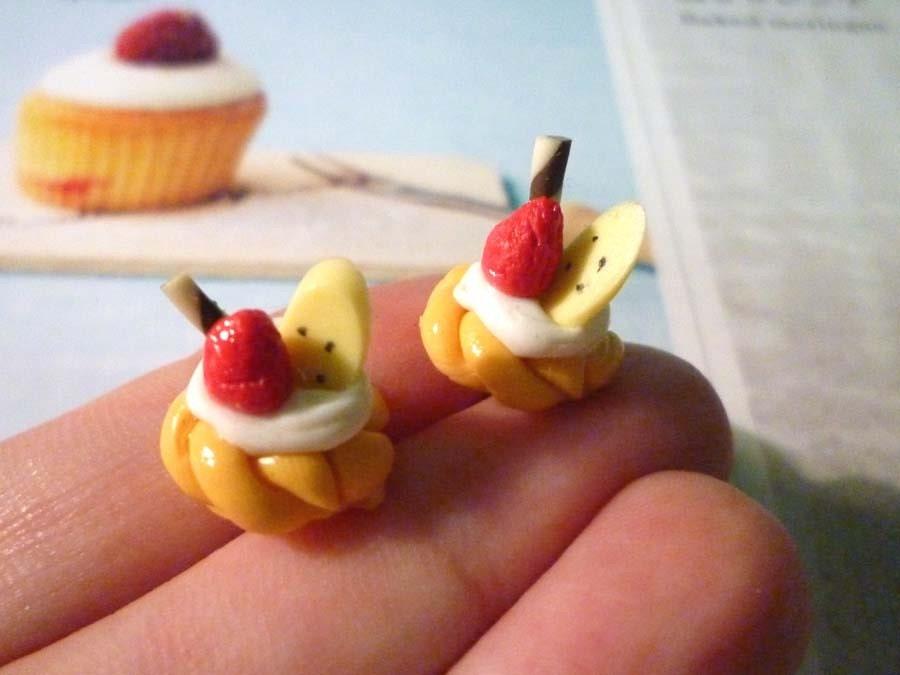 Fruit Pie Earrings