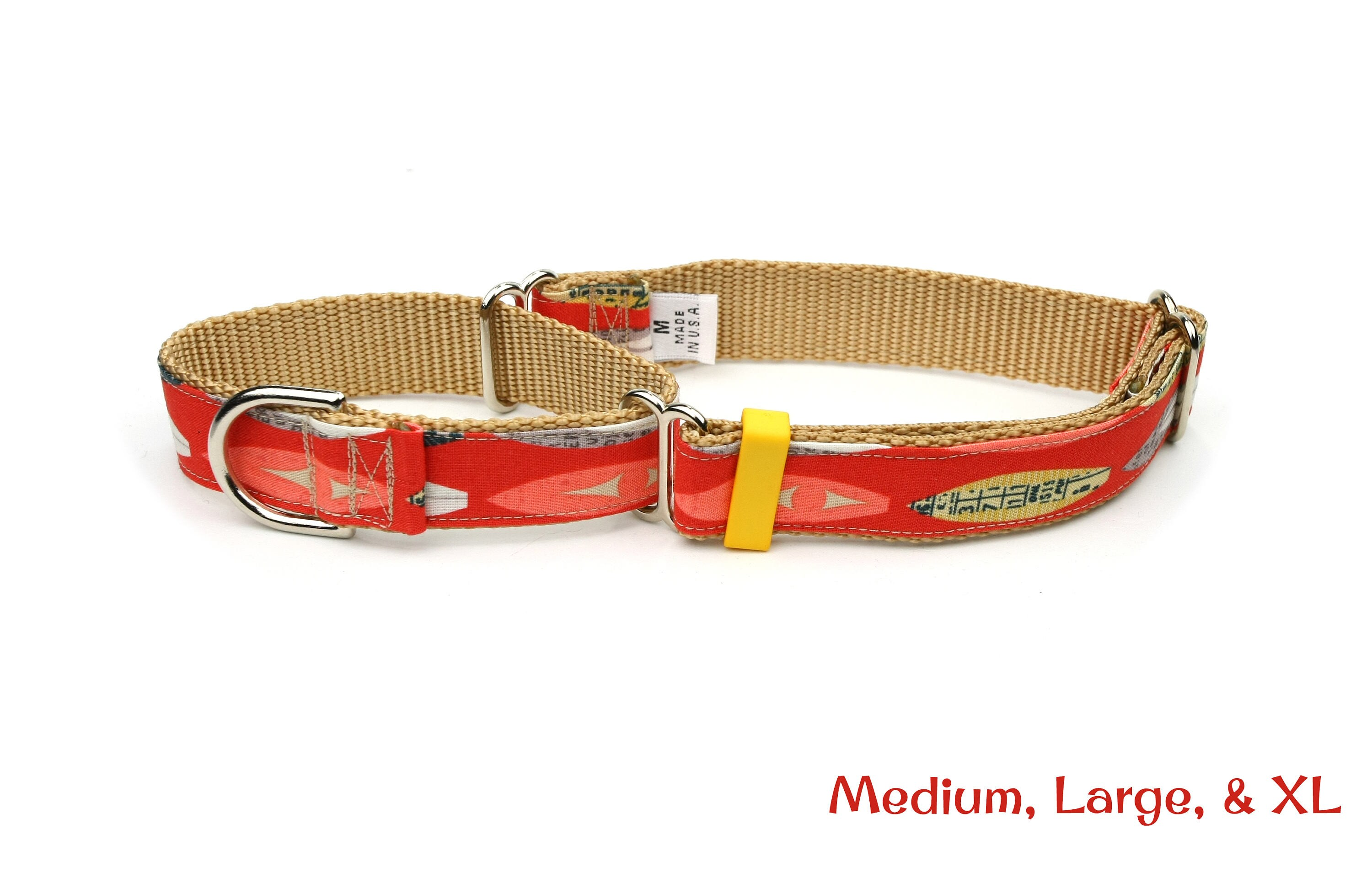 foto Mighty Paw Leather Dog Leash, Light Brown, Standard