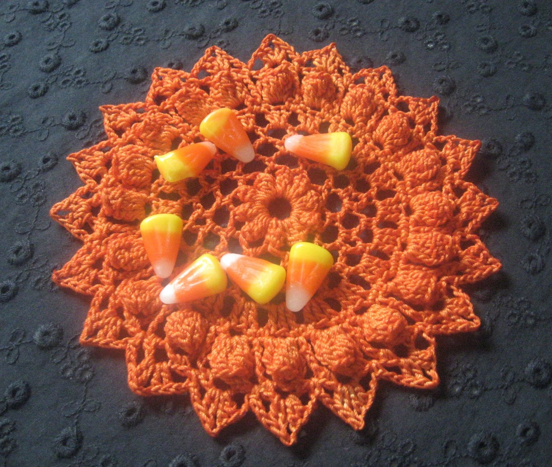 Pumpkin Doily 2 - tabachin