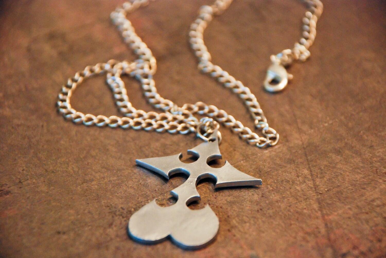 kingdom hearts nobody necklace by clockworkoptimistic on etsy