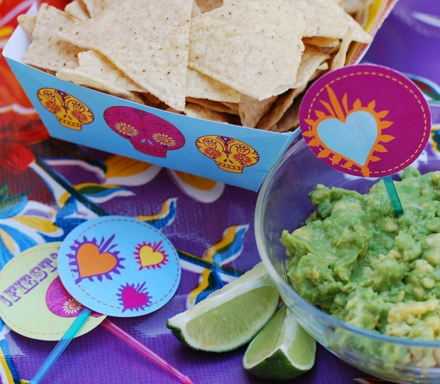 Fiesta PRINTABLE PARTY COLLECTION - Customizable