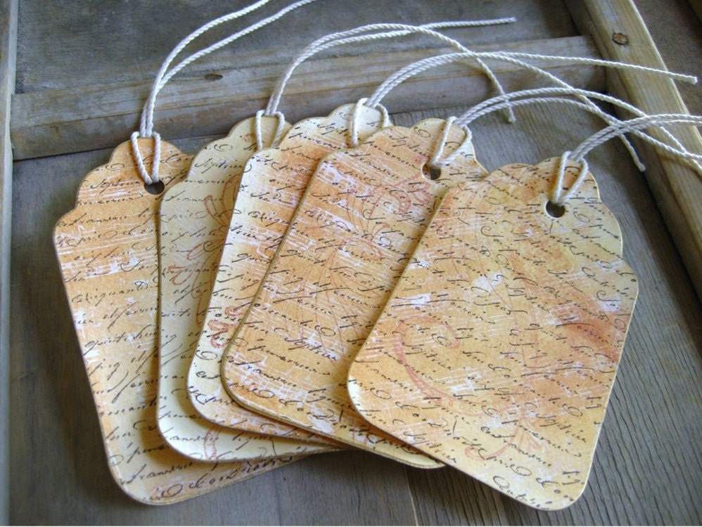 Elegantly Shabby Paper Gift Tags by Soul Song Creations