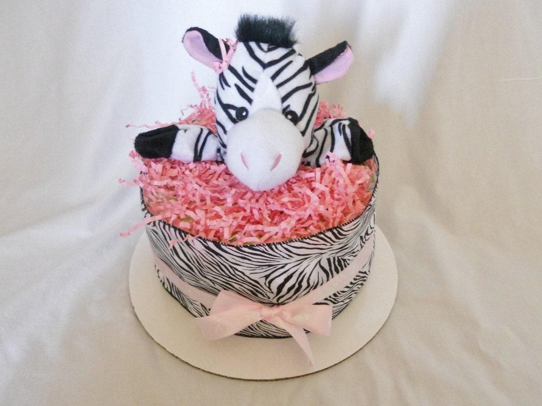 Zebra Diaper Cake Mini 15% OFF