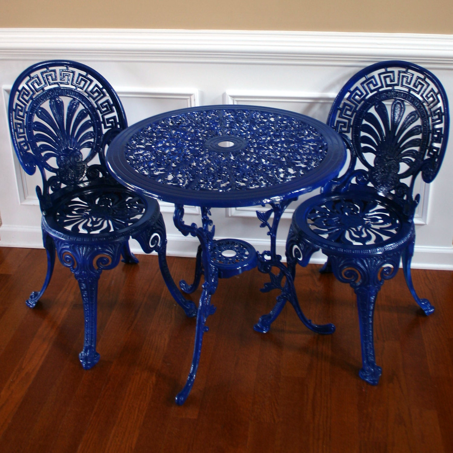 Chinoiserie Blue Vintage Patio Table and Chairs by  : ilfullxfull264776156 from www.etsy.com size 1500 x 1500 jpeg 448kB