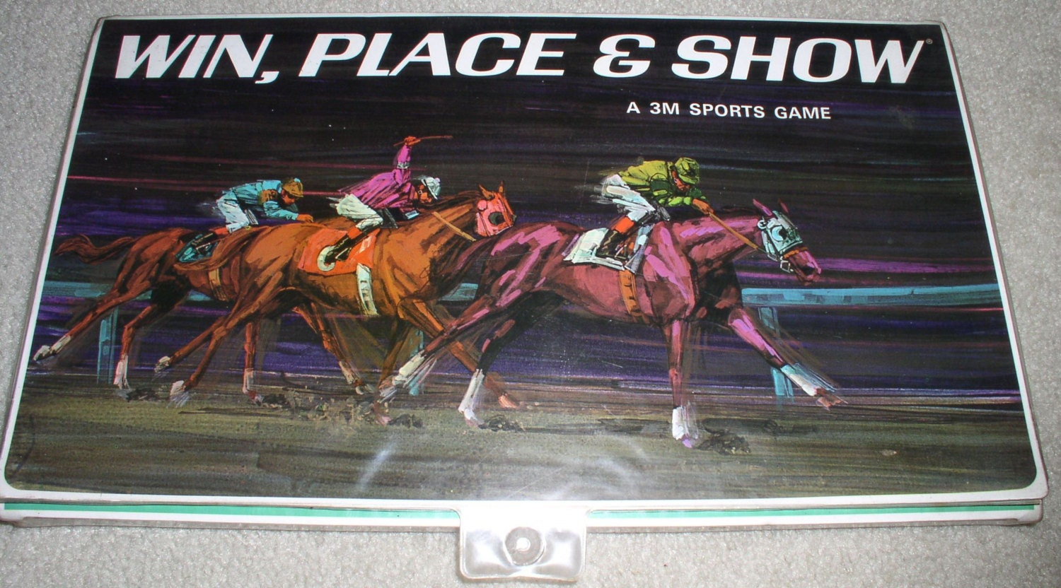 win place show horse racing