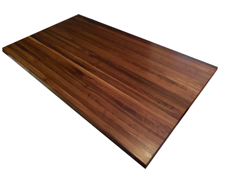 walnut butcher block countertop edge grain by