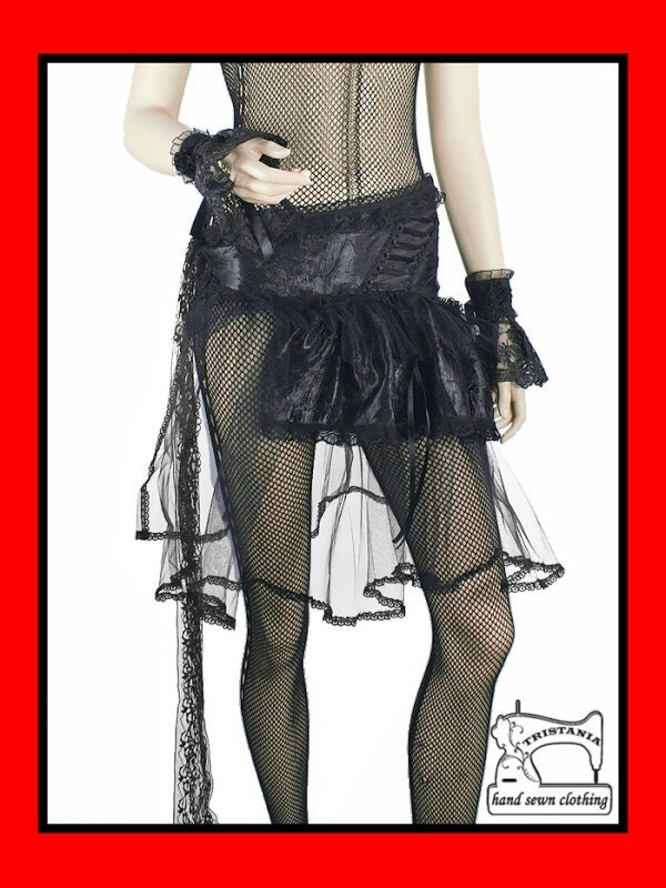 gothic skirt clothing goth harajuku japan queen of darkness lolita hell bunny necessary sinister evil aristocrat victorian corset style 0190