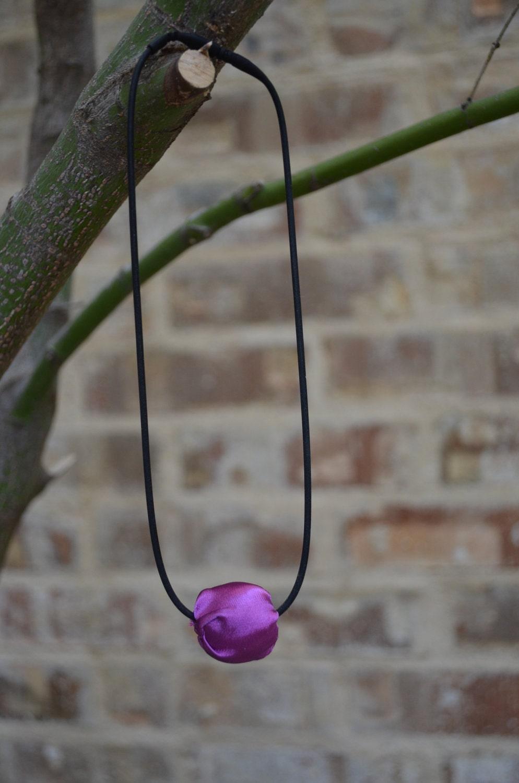 Silk Bead Necklace