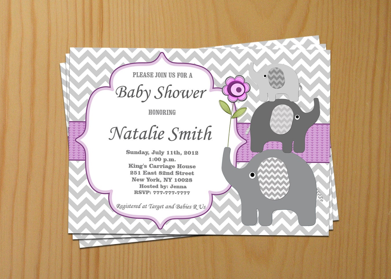 baby shower invitation girl baby shower invitation by diymyparty
