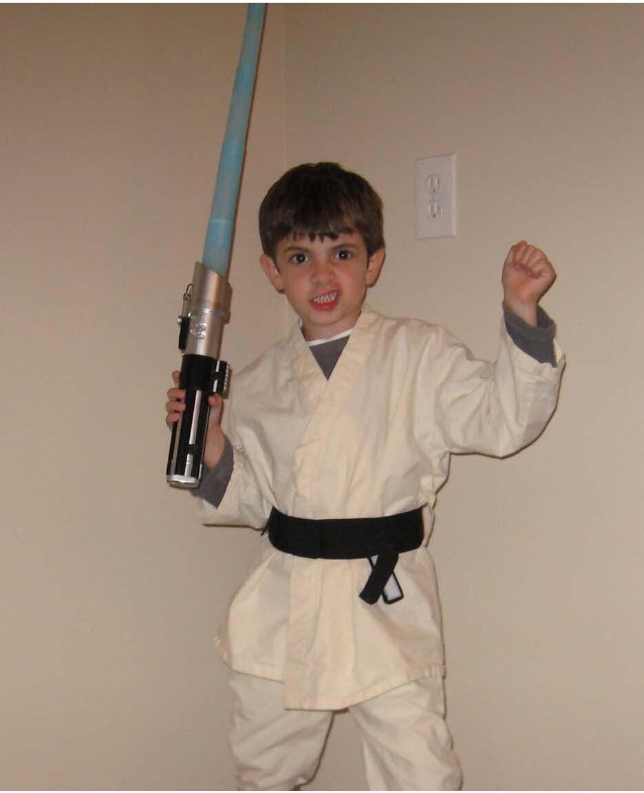 Star Wars Luke Skywalker Inspired Costume By Piggiesnblankets