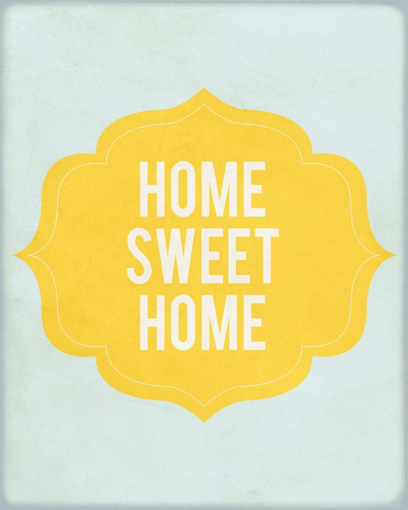 Items similar to sale 50 off home sweet home wall for Home decor 50 off