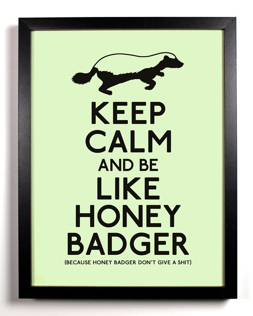 Honey badger dont give a shit - photo#10