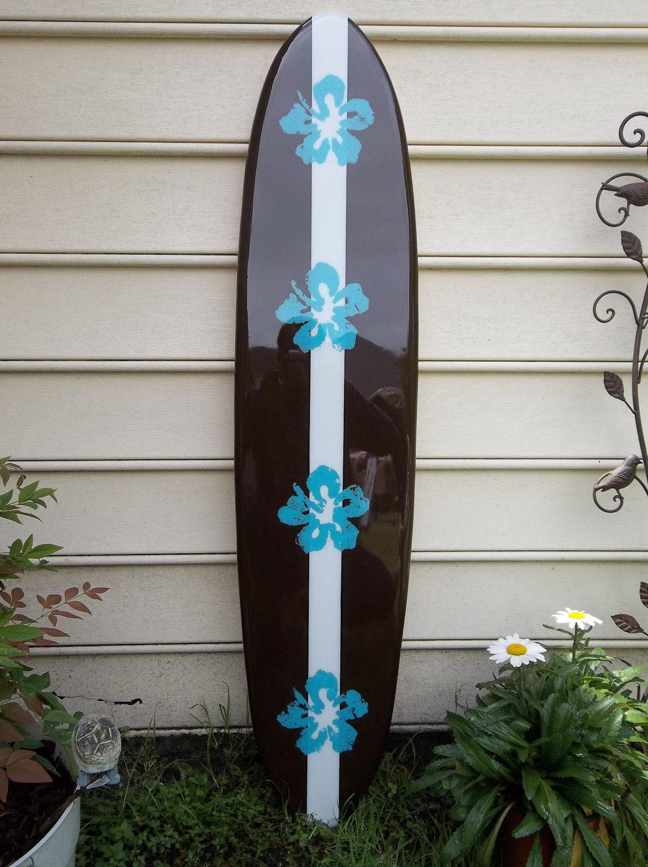 Tenture murale hawa enne de planche de surf par flyoneboardshop - Decoration planche de surf ...