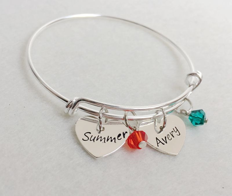 Mothers bracelet with children names with by