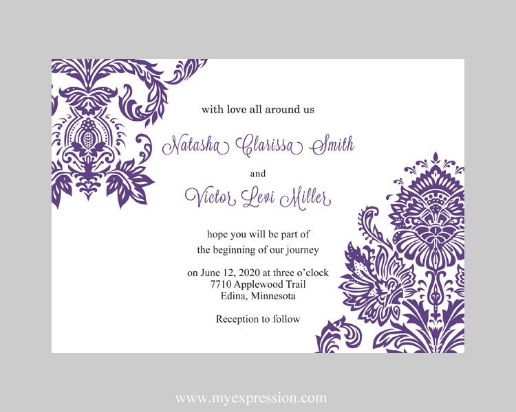 invitation wording wedding invitation templates for microsoft word