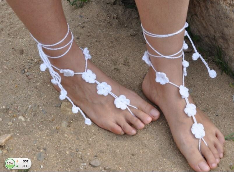 barefoot wedding shoes - photo #46