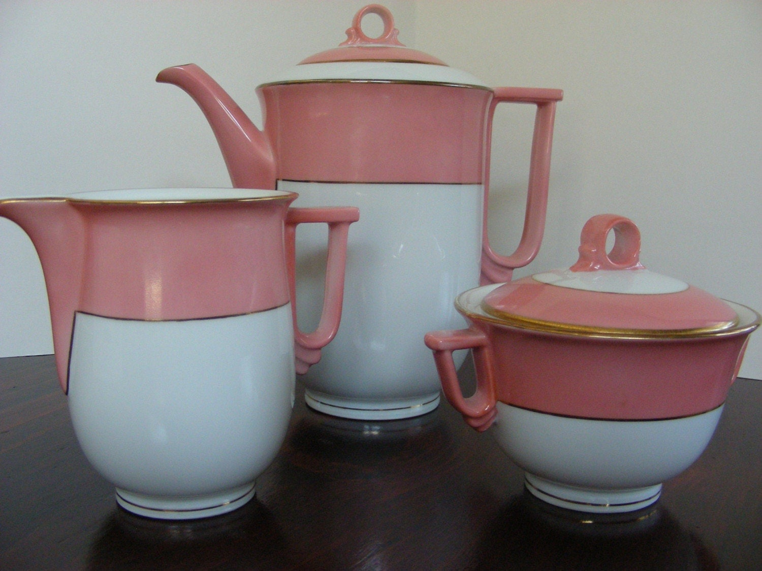 Vintage Carlsbad Porcelain Tea Set