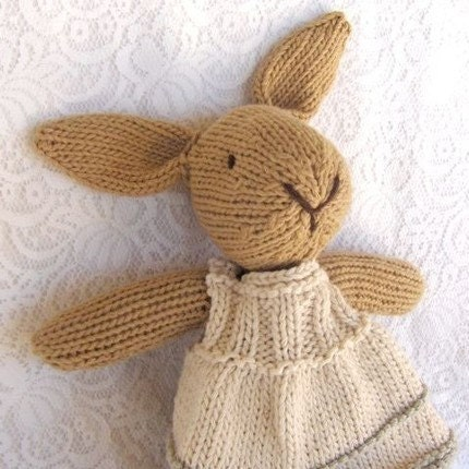 Custom Knitted Woolies - Teddy, Bunny, Lamb, Puppy, Kitty