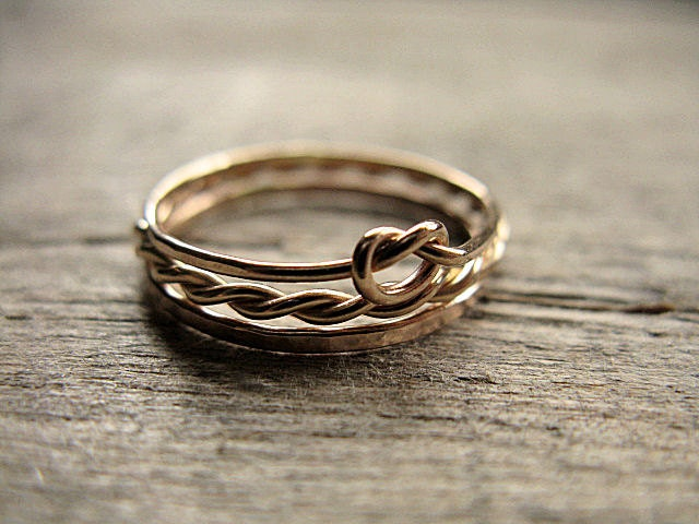 Stacking Rings 14k Gold Fill - AutumnEquinox