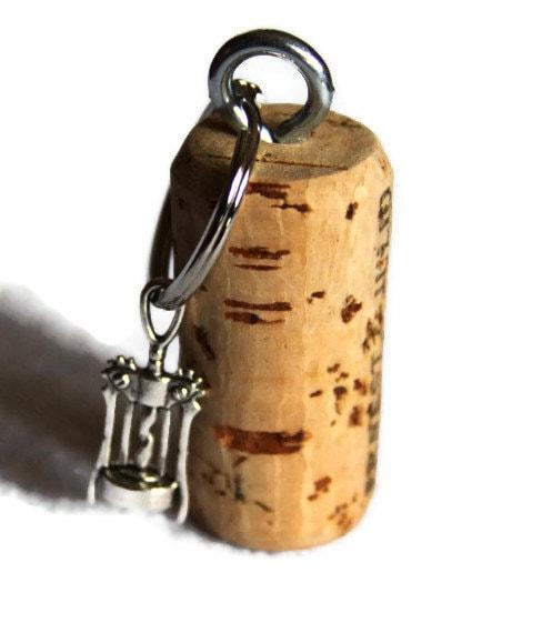 nautical cork key chain cork screw wine bottle opener by raymels. Black Bedroom Furniture Sets. Home Design Ideas