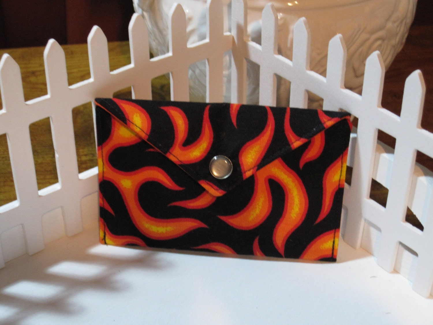 doktor dolam: Hot Rod Flames business card / mini wallet. From ...