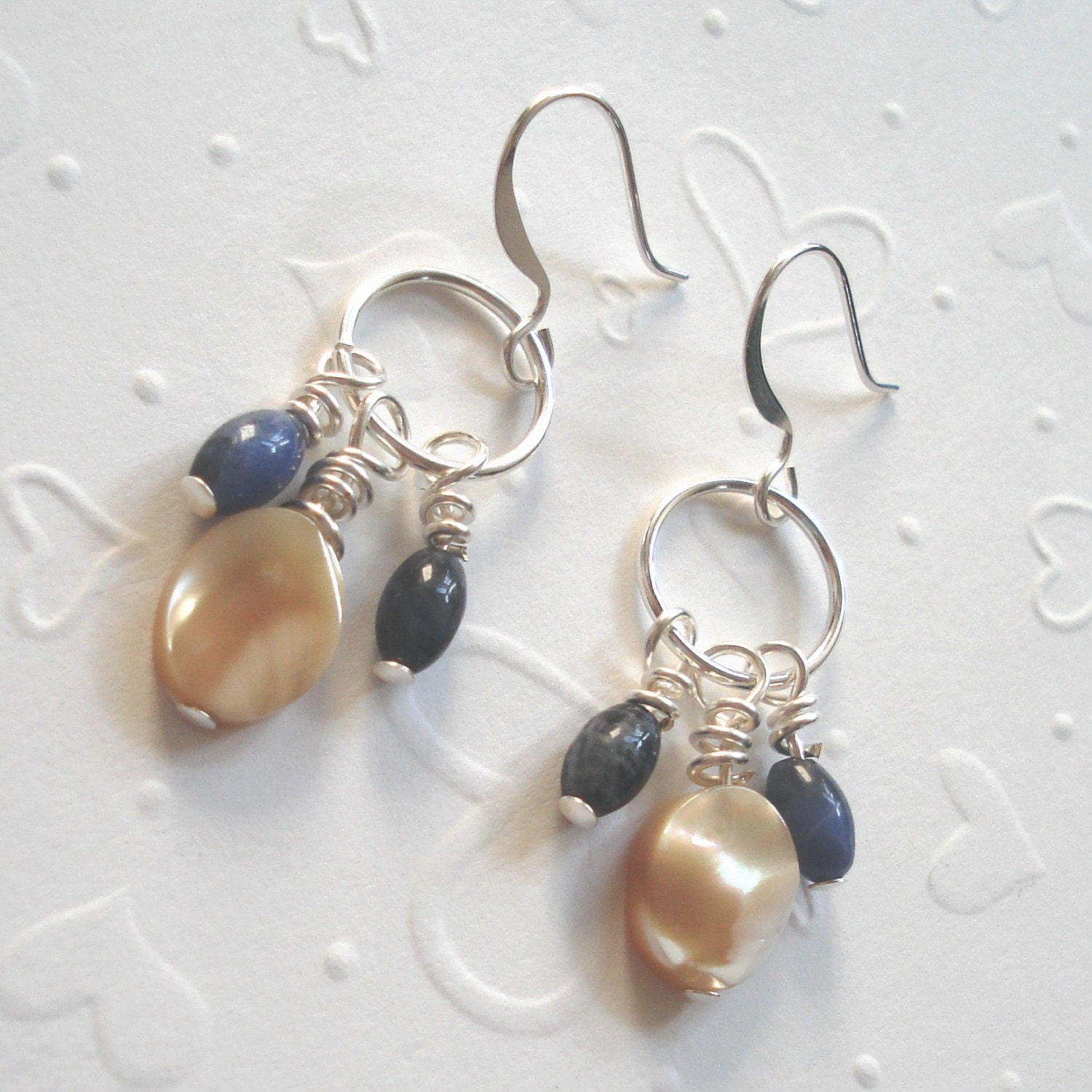 splash on the sand earrings