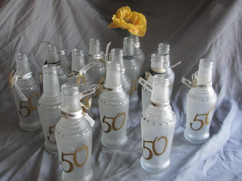 Items similar to 50th Anniversary Table Decor on Etsy