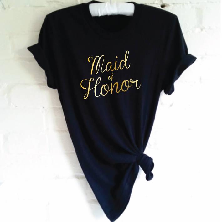 Maid Of Honor TShirt. Hen Party Shirt. Wedding Party Shirt. Bachelorette Party Shirt. Bridal Party Shirt. Bridal Shower. Maid Of Honour